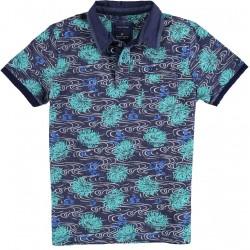 71.3606-176  Poloshirt Jersey Fantasy mid green