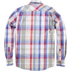 71.6508-185  Shirt L/S Modern Check red