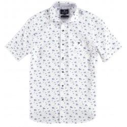 Shirt S/S Fantasy Leaves Print