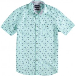 Shirt S/S Fantasy Leaves Print