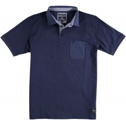 71.3629-110  Poloshirt Jersey Fantasy Design navy