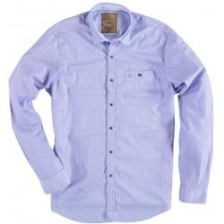71.6516-116  Shirt L/S Vintage Edition mid blue