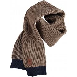 72.1208-144  shawl mid brown/bronze