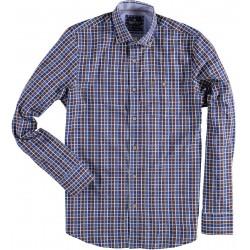 72.6505-140  Shirt L/S Classic Check brown