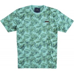 81.3101-178  T-Shirt Crewneck Print light green