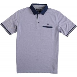 81.3601-191  Poloshirt Pique Solid royal purple