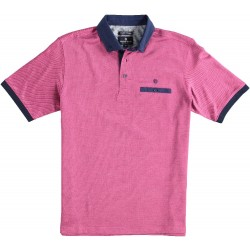81.3604-185  Poloshirt Mercerised red