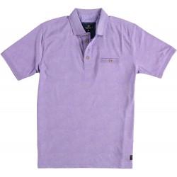 81.3618-197  Poloshirt Jersey Fantasy lilac