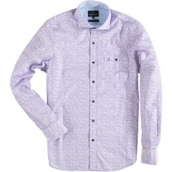 81.6506-197  Shirt L/S Waves of Yarn lilac