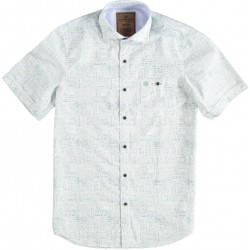 81.6628-178  Shirt S/S Handpainted Check light green