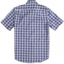 81.6639-110  Shirt S/S Classic Check navy