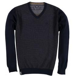 82.1153-110  Pullover V-Neck navy
