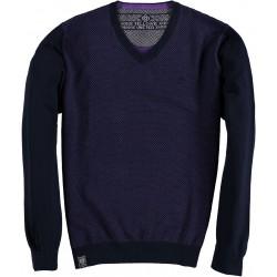 82.1153-192  Pullover V-Neck velver purple