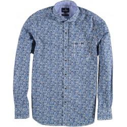 82.6508-115  Shirt L/S Fantasy Design mid blue