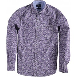 82.6508-192  Shirt L/S Fantasy Design velver purple