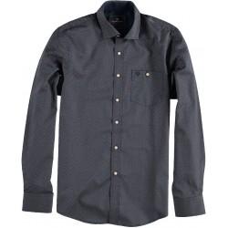 82.6543-110  Shirt L/S Mini Print navy
