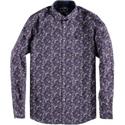 Shirt L/S Coloured Leaves