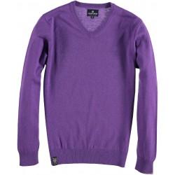 99.1110-192  Pullover V-Neck 100% Lambswool velver purple