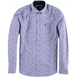 82.6559-192  Shirt L/S Funny Print velver purple