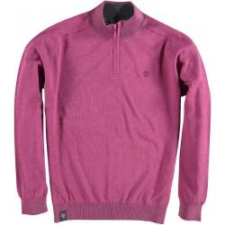 82.1102-162  Pullover Skipper Collar Zipper pink flambé