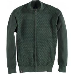 82.1139-172  Cardigan Solid Design Solid Sleeves dark green